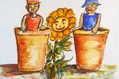 The Flower Pot Men and Weed
