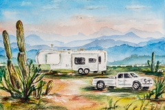 Desert RVing - roughing it smoothly