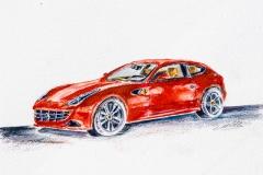 FF  Ferrari -  Prints available