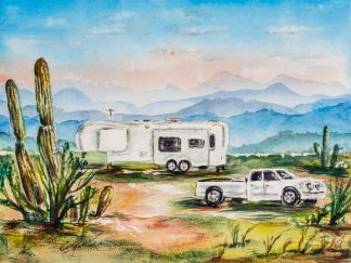Desert RVing -roughing it smoothly